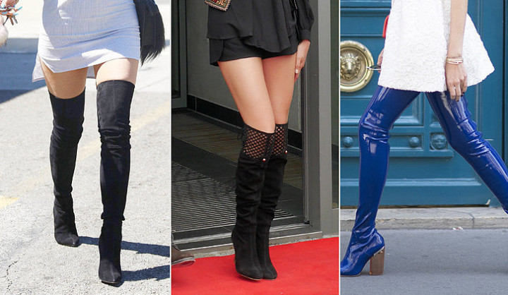 4 Ways to Wear Your OTK Boots This Summer