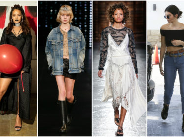 Fall Into Winter With 90s Trends