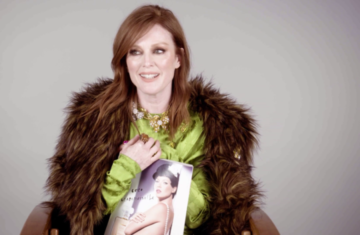 Julianne Moore On Her 6 InStyle Covers