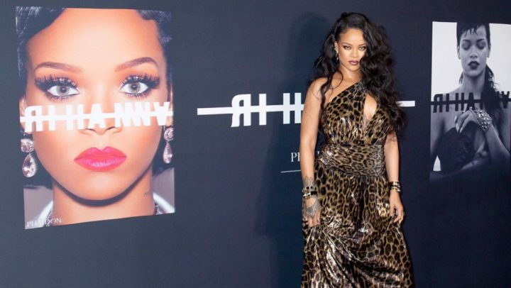 Rihanna Celebrates New Visual Autobiography