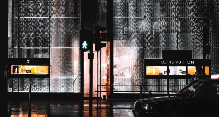 Louis Vuitton In Japan Unveils New Shimmering Holographic Exterior